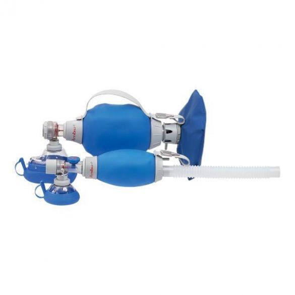 AMBU Mark IV lélegeztető ballon egyutas szelep, maszk felnőtt vagy Baby méretben