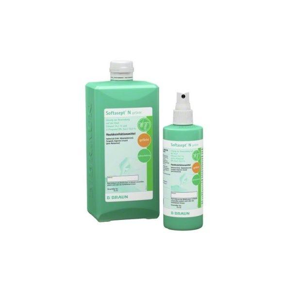 Softasept N alkoholos bőrfertőtlenítő, színtelen vagy színezett