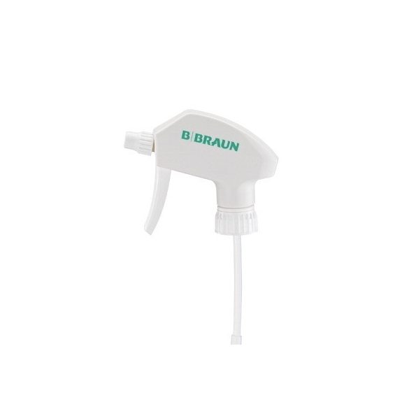 Szórófejes pumpa 1000 ml-es palackhoz (fehér)