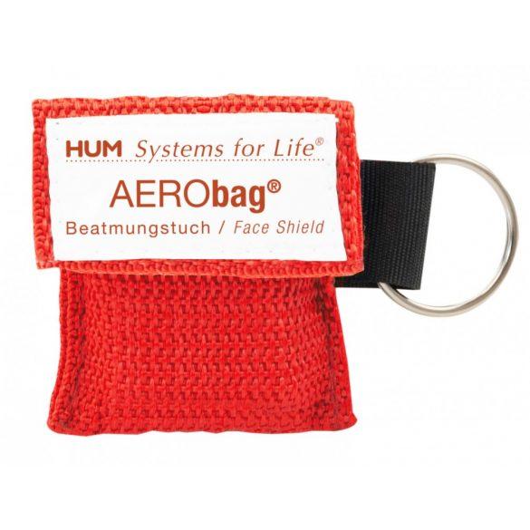 AERObag CPR lélegeztető fóliamaszk kulcstartó tokban