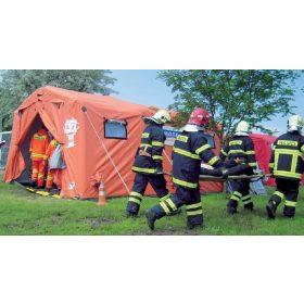 Felfújható kórház és mentősátrak